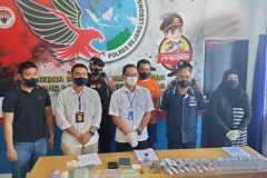 Mantan polisi pengedar narkotika dijerat pasal berlapis